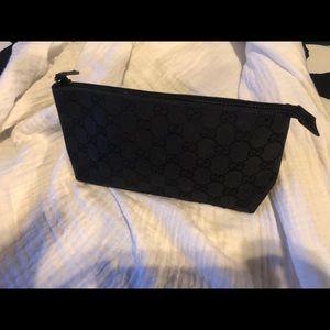 Vintage Gucci GG  make-up/ clutch Bag